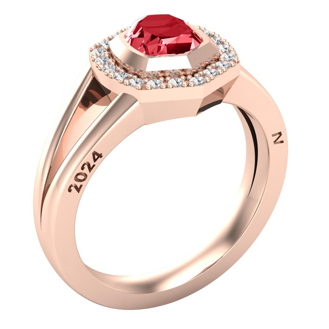 Kendra Scott Davis Halo College Class Ring