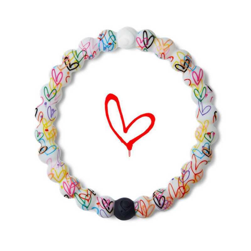 LLTD-019HRT-M: Lokai - Hearts Bracelet - Medium