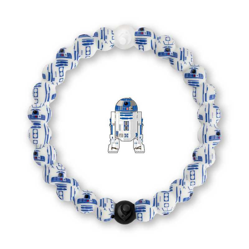 LSW-R220-XL: Lokai - Star Wars - R2-D2 Bracelet - Extra Large