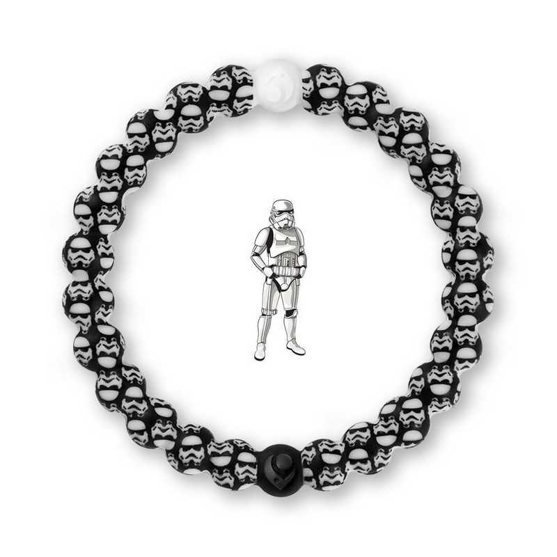 LSW-ST20-XS: Lokai - Star Wars  - Stormtrooper Bracelet - Extra Small