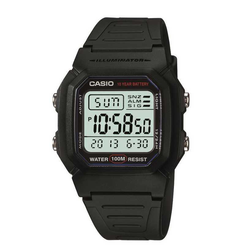 W-96H-3AVCF: Casio Watches - Men's Classic Sport Digital Watch - Black