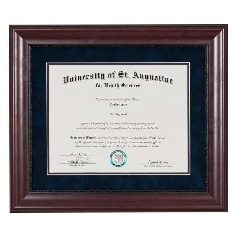 Heritage Frames Premium Cherry Wood Diploma Frame