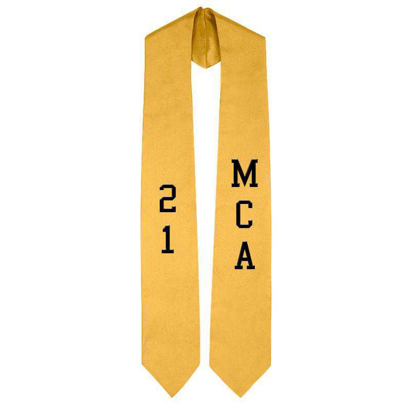 Personalized Satin Stole