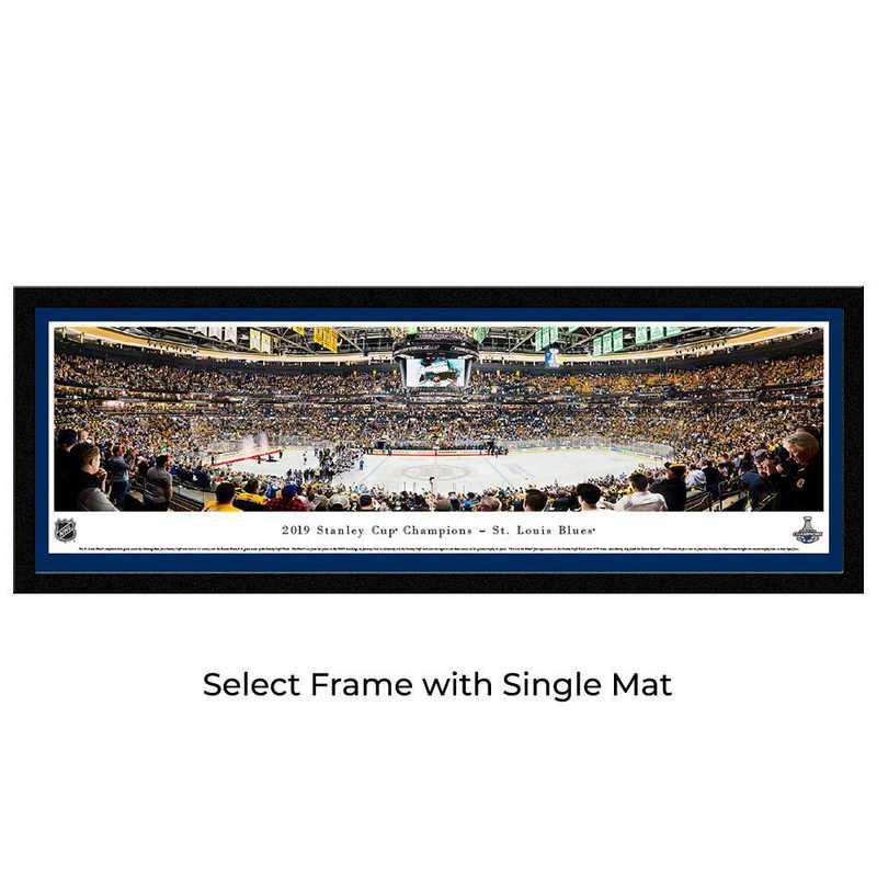 NHLSC19M: 2019 Stanley Cup Champions - St. Louis Blues, Select Frame