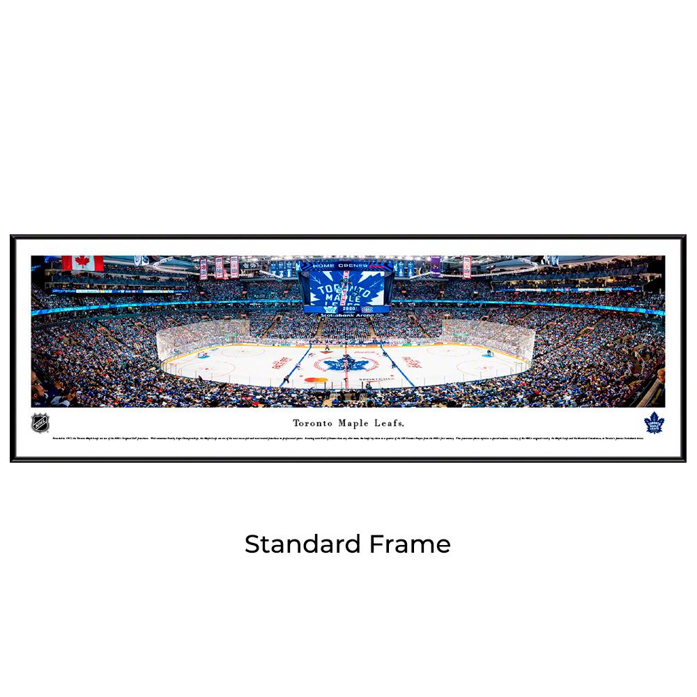 Toronto Maple Leafs Hockey Standard Framed Panoramic Print