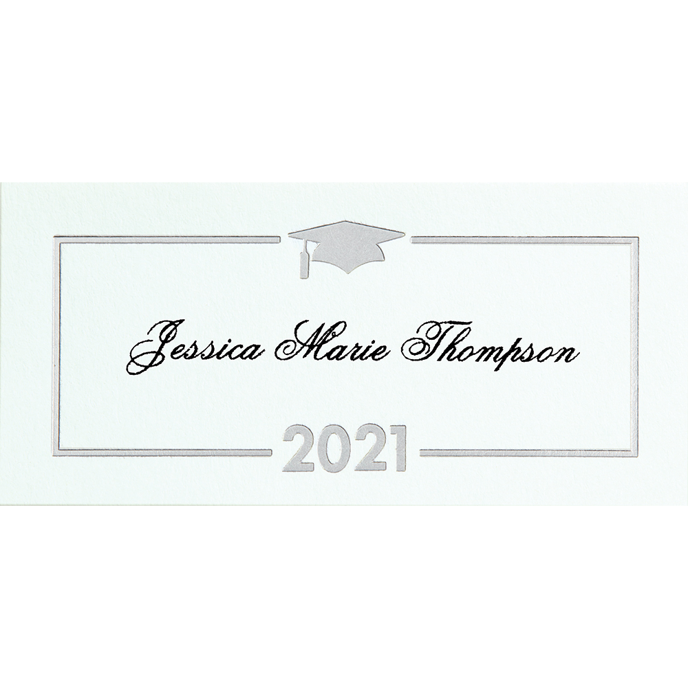 Premium Announcement Name Cards