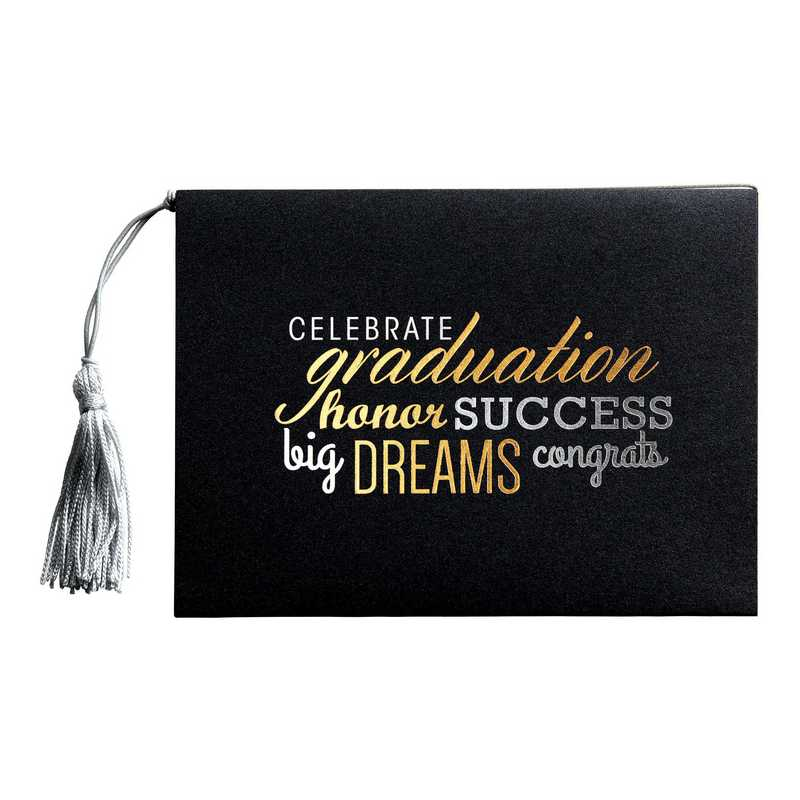 Deluxe Grad Announcement & Photo Keepsake