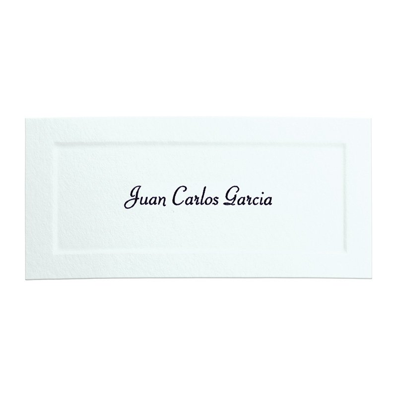 Standard Announcement Name Cards