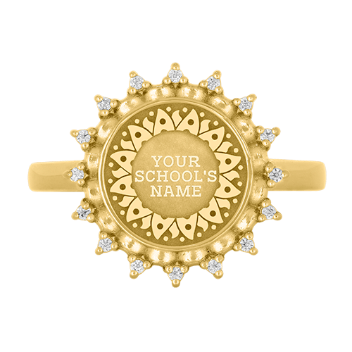 Noor High School Class Ring — University Collection by Balfour™