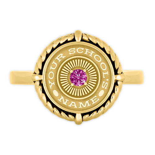 Joan High School Class Ring — University Collection by Balfour™