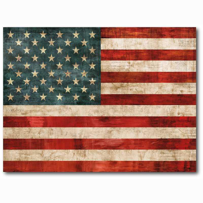 WEB-ID291-24x36: American Flag, 24x36