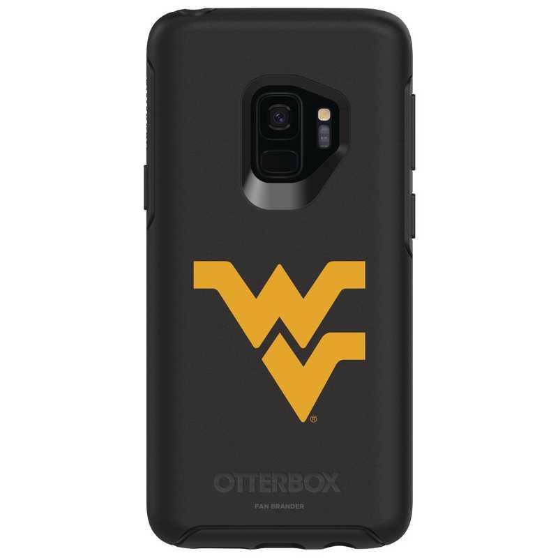 GAL-S9-BK-SYM-WV-D101: FB West Virginia OB SYMMETRY Case for Galaxy S9