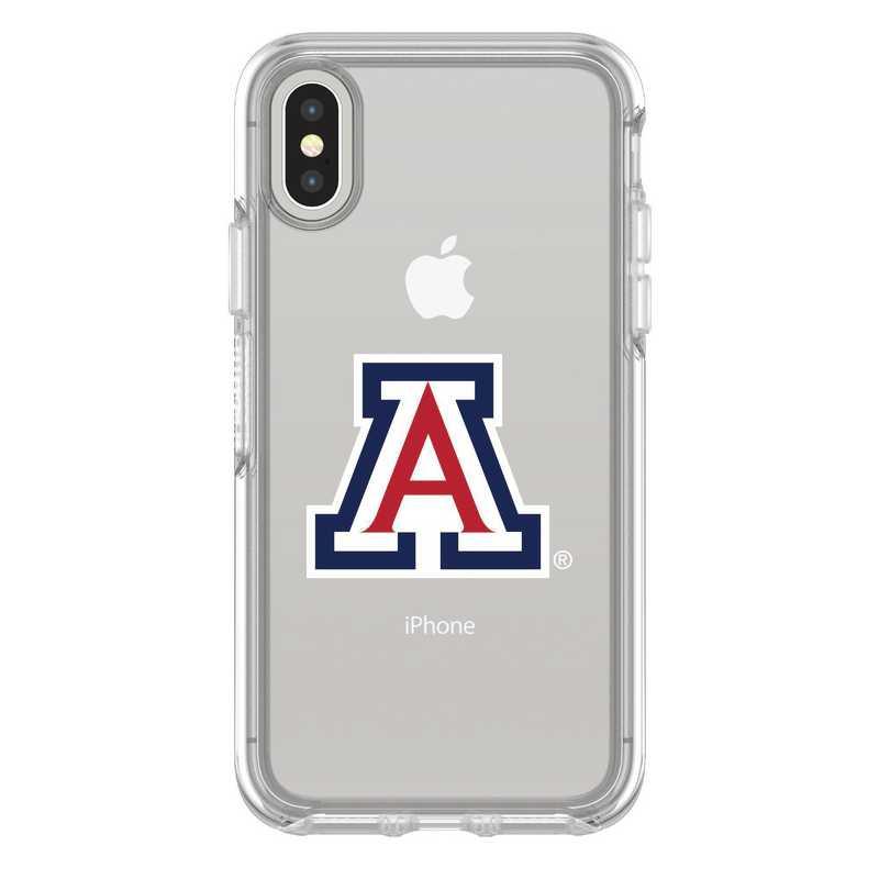 IPH-X-CL-SYM-ARZ-D101: FB Arizona iPhone X Symmetry Series Clear Case
