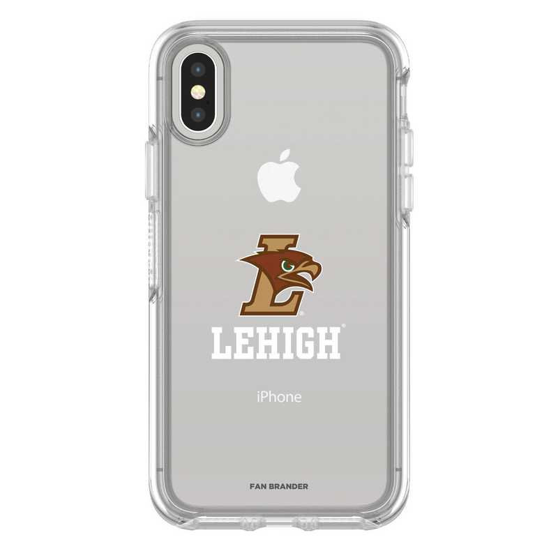 IPH-X-CL-SYM-LEH-D101: FB Lehigh Mountain iPhone X Symmetry Series Clear Case