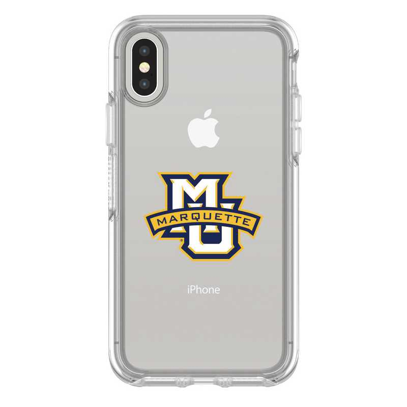 IPH-X-CL-SYM-MAQ-D101: FB Marquette iPhone X Symmetry Series Clear Case