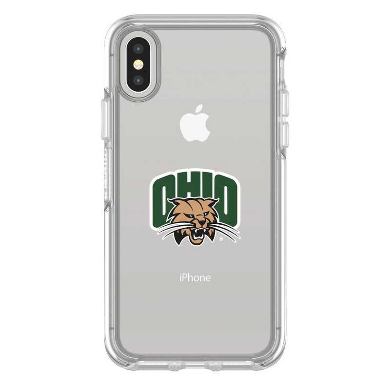 IPH-X-CL-SYM-OHU-D101: FB Ohio iPhone X Symmetry Series Clear Case