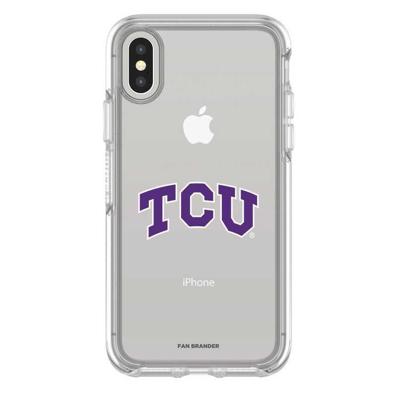 IPH-X-CL-SYM-TCU-D101: FB TCU iPhone X Symmetry Series Clear Case