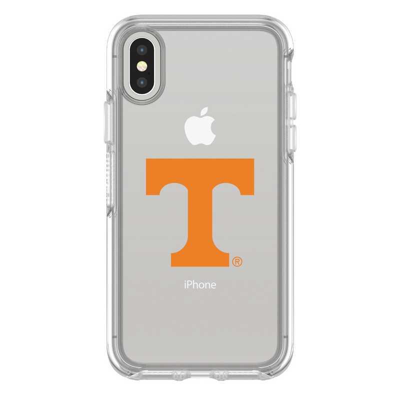 IPH-X-CL-SYM-TEN-D101: FB Tennessee iPhone X Symmetry Series Clear Case