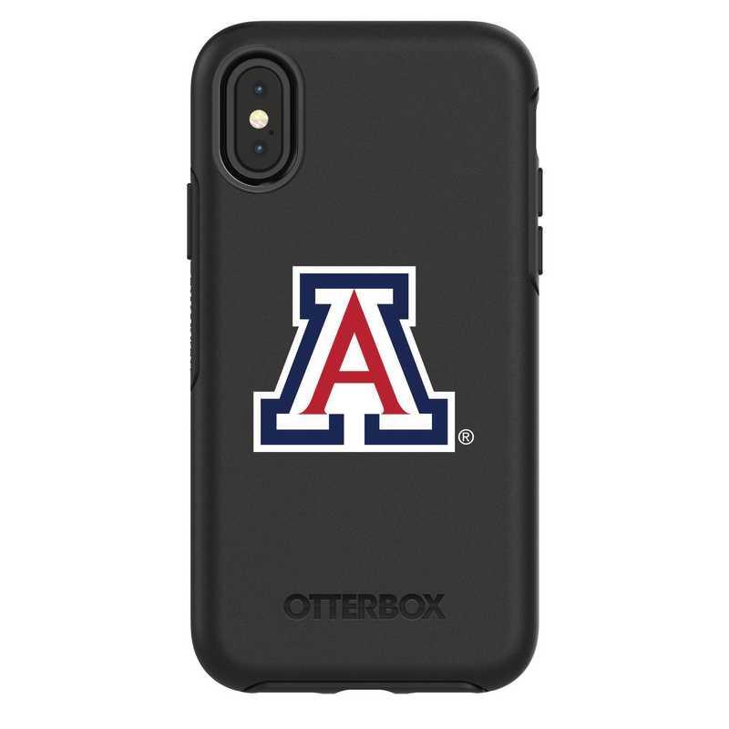 IPH-X-BK-SYM-ARZ-D101: FB Arizona iPhone X Symmetry Series Case
