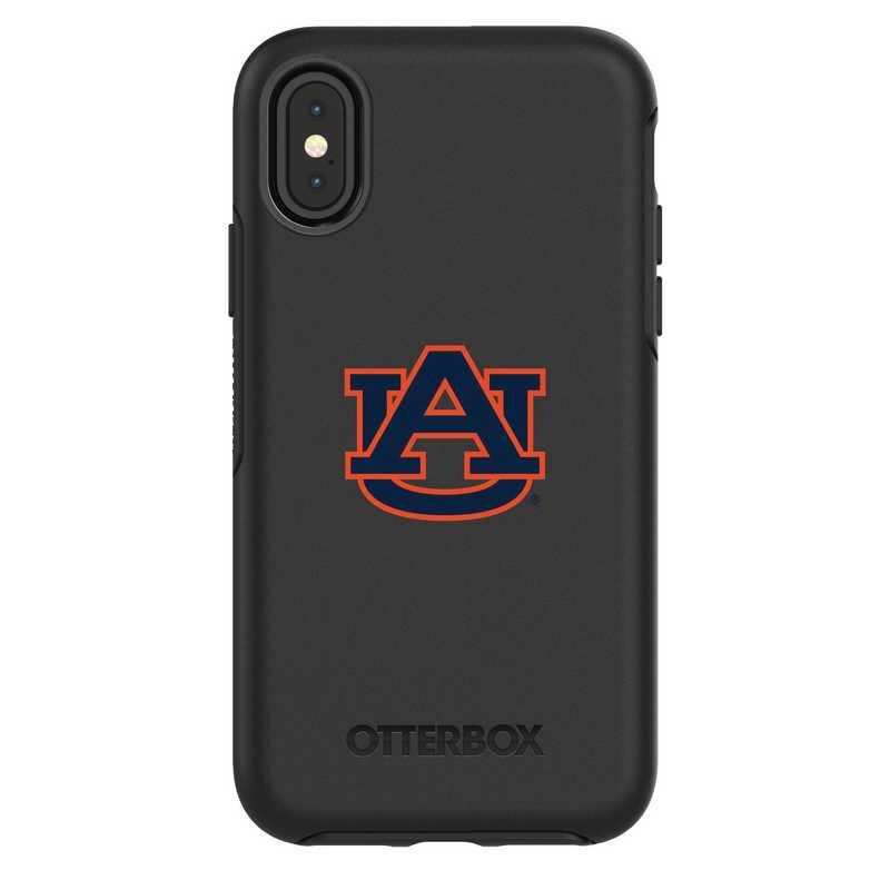 IPH-X-BK-SYM-AUB-D101: FB Auburn iPhone X Symmetry Series Case