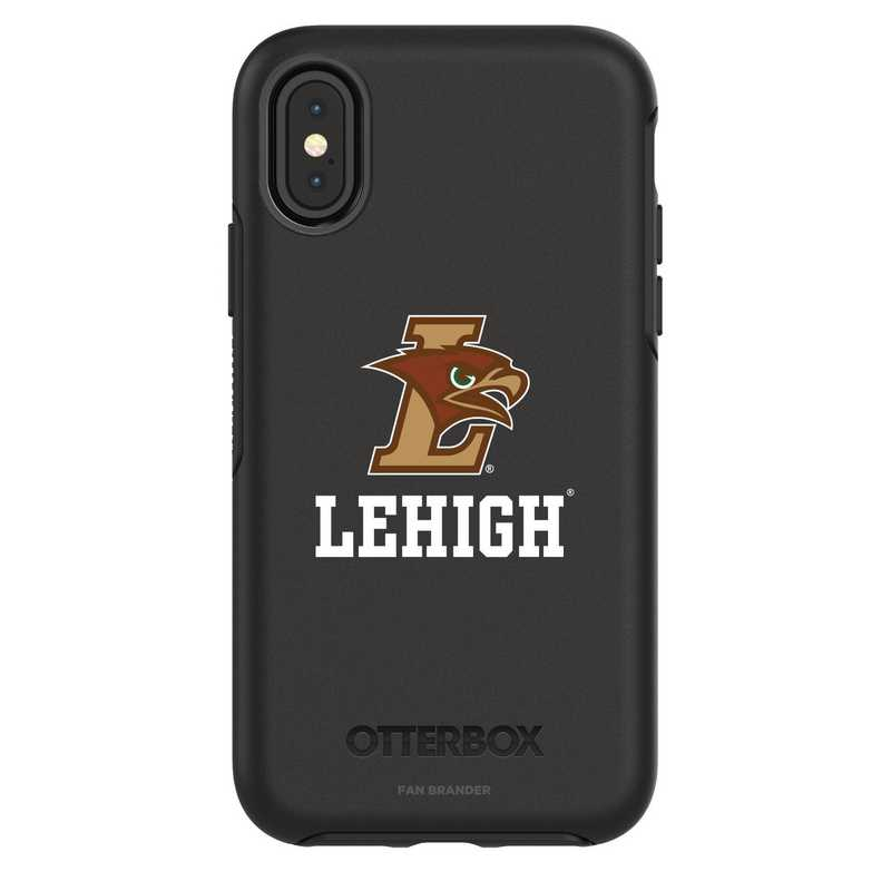 IPH-X-BK-SYM-LEH-D101: FB Lehigh Mountain iPhone X Symmetry Series Case