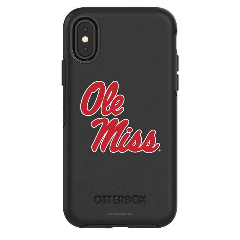 IPH-X-BK-SYM-MS-D101: FB Mississippi iPhone X Symmetry Series Case