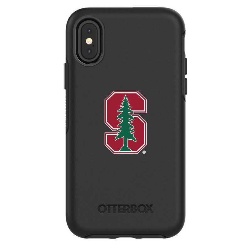 IPH-X-BK-SYM-STA-D101: FB Stanford iPhone X Symmetry Series Case