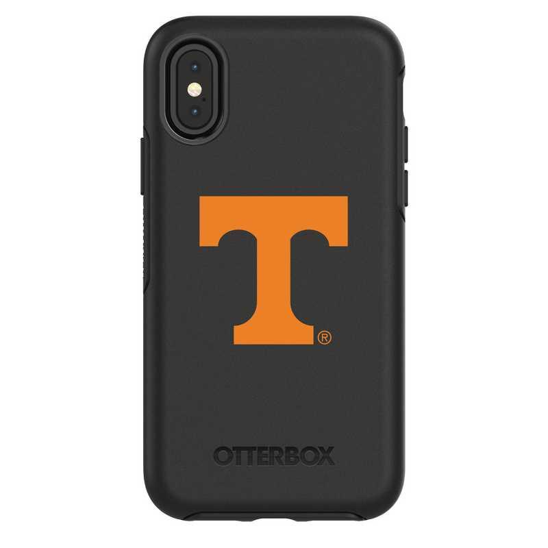 IPH-X-BK-SYM-TEN-D101: FB Tennessee iPhone X Symmetry Series Case