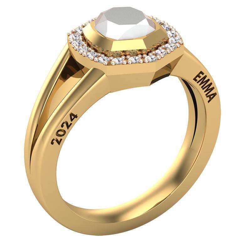 Kendra Scott Davis Halo High School Class Ring