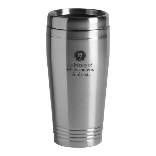 Stainless Steel Mug-Burgundy Amherst-16 oz University of Massachusetts
