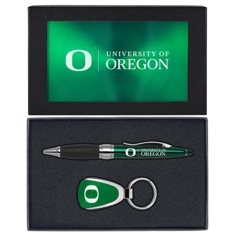 University of Oregon Stylus USB Pen-Black Inc LXG