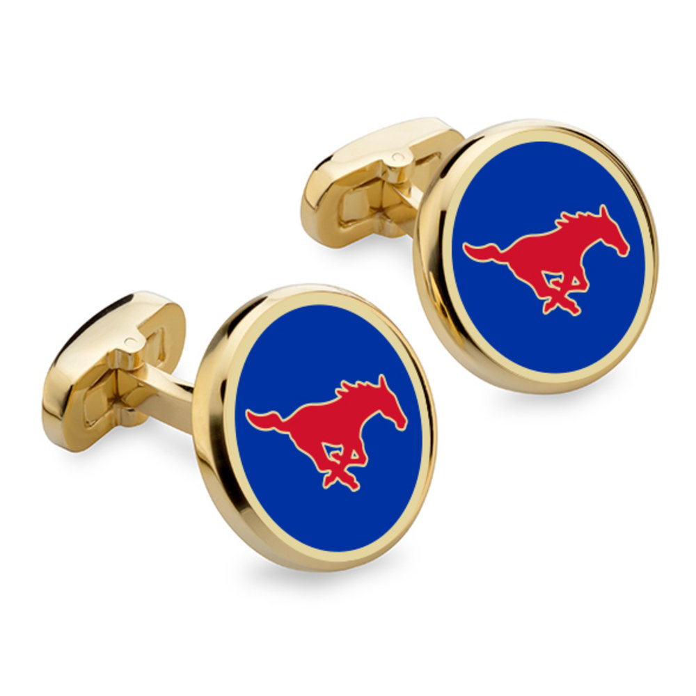 NCAA Southern Methodist Mustangs Cufflinks