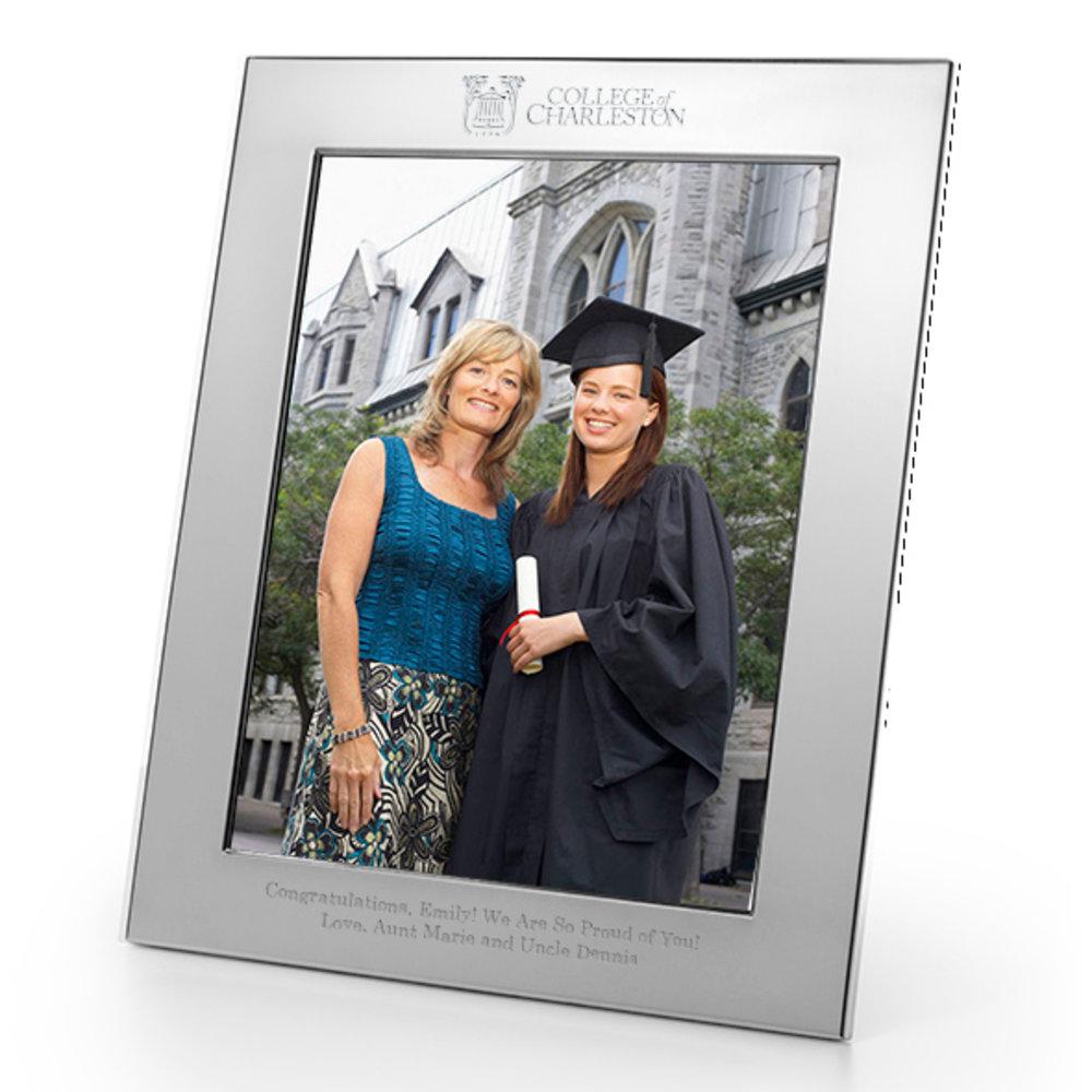 M Lahart Co College Of Charleston 16x20 Fidelitas Cherry Wood Diploma Frame