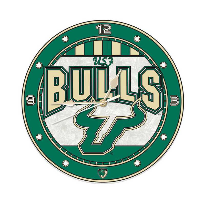 Memory Company South Florida Bulls Art-Glass Nightlight
