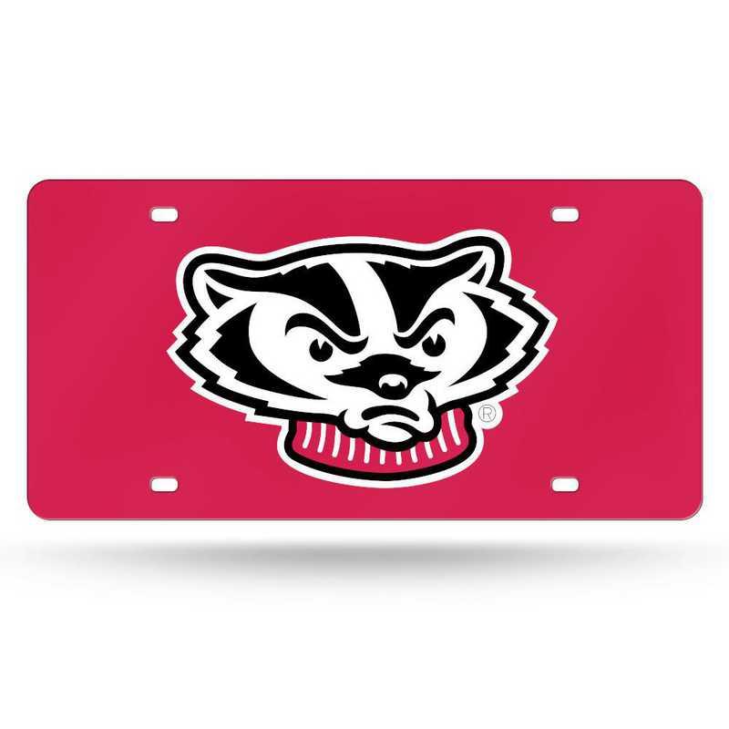 LZC450102: NCAA LZC Laser Cut Tag Wisconsin