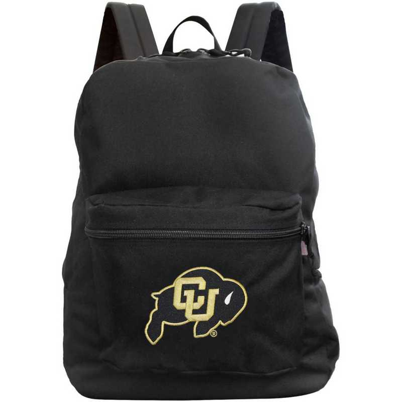 """CLCOL710-BLACK: 16"""" Made in USA Premium Backpack"""
