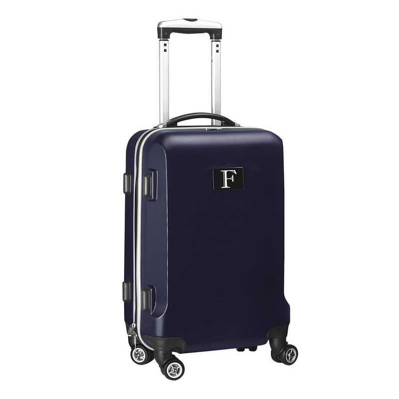 """INFFL204-NAVY: Initial Name Letter """"F"""" Navy Luggage"""