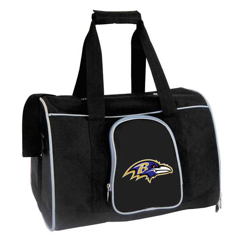 NFBRL901: NFL Baltimore Ravens Pet Carrier Premium 16in bag
