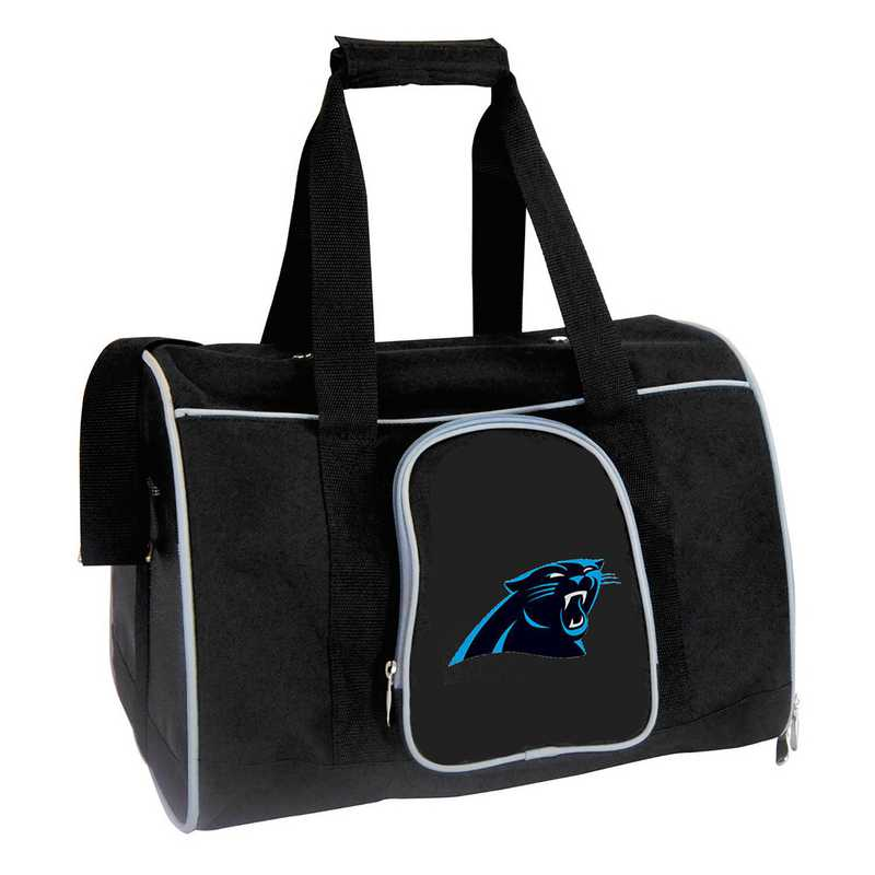 NFCPL901: NFL Carolina Panthers Pet Carrier Premium 16in bag