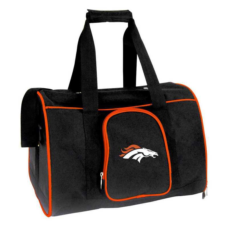 NFDBL901: NFL Denver Broncos Pet Carrier Premium 16in bag