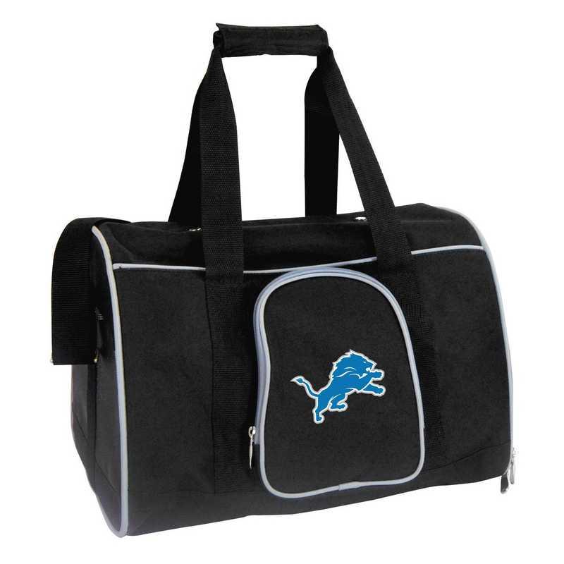 NFDLL901: NFL Detroit Lions Pet Carrier Premium 16in bag