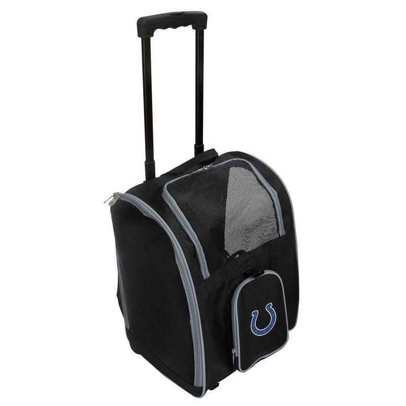 NFICL902: NFL Indianapolis Colts Pet Carrier Premium bag W/ wheels