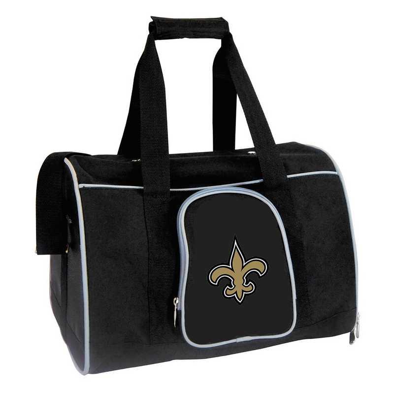 NFNSL901: NFL New Orleans Saints Pet Carrier Premium 16in bag