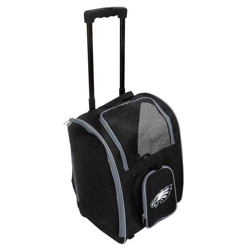 NFPEL902: NFL Philadelphia Eagles Pet Carrier Premium bag W/ wheels
