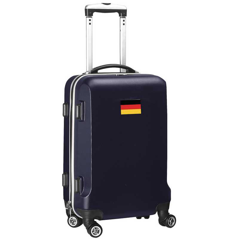 "FLGEL204-NAVY: Germany Flag 21"" Carry-On Spinner Navy"