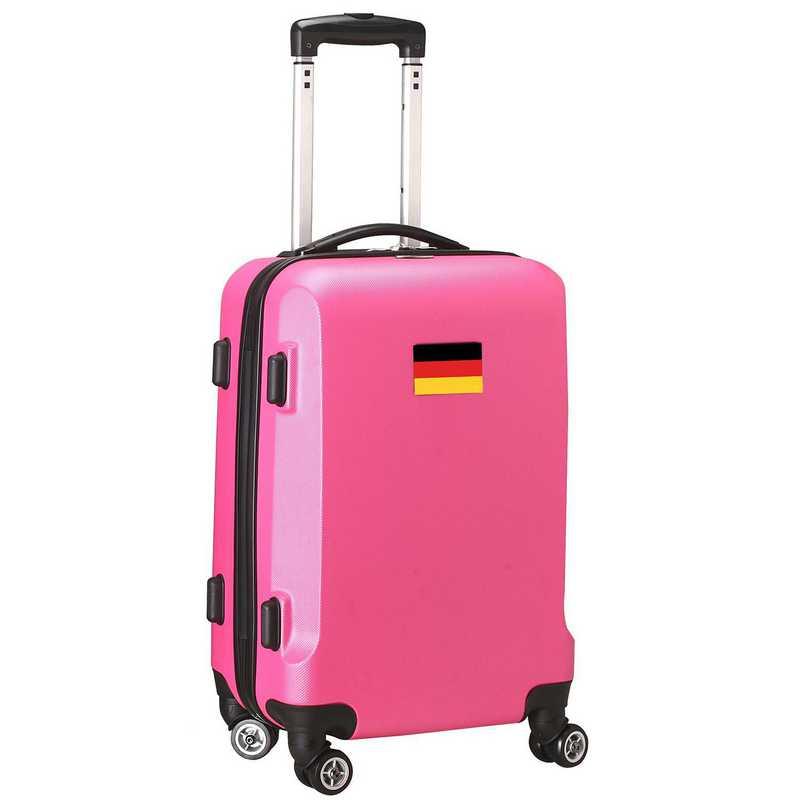"""FLGEL204-PINK: Germany Flag 21"""" Carry-On Spinner Pink"""