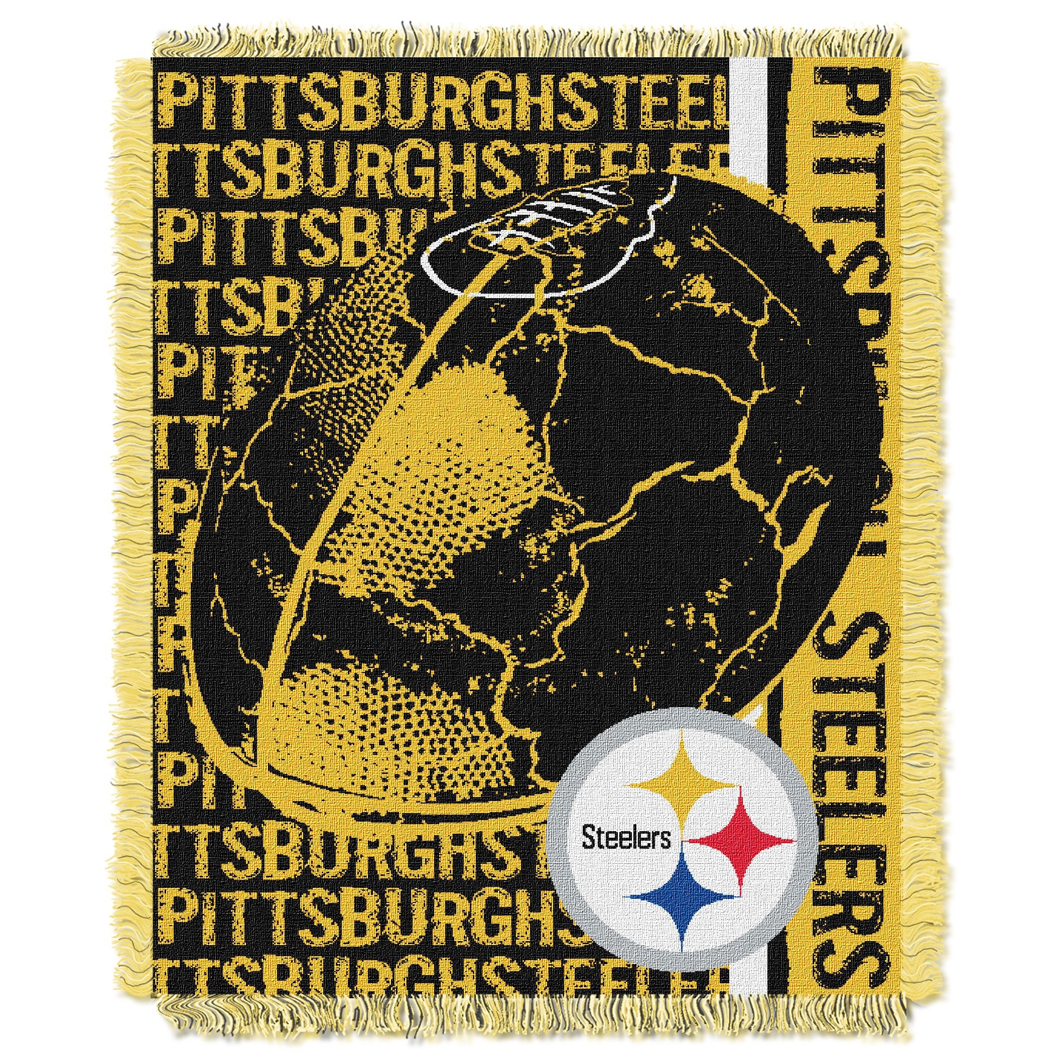 46 X 60 Pittsburgh Steelers Nfl Chair Mat Computer Chair Mats Static Discharge Control Office Products