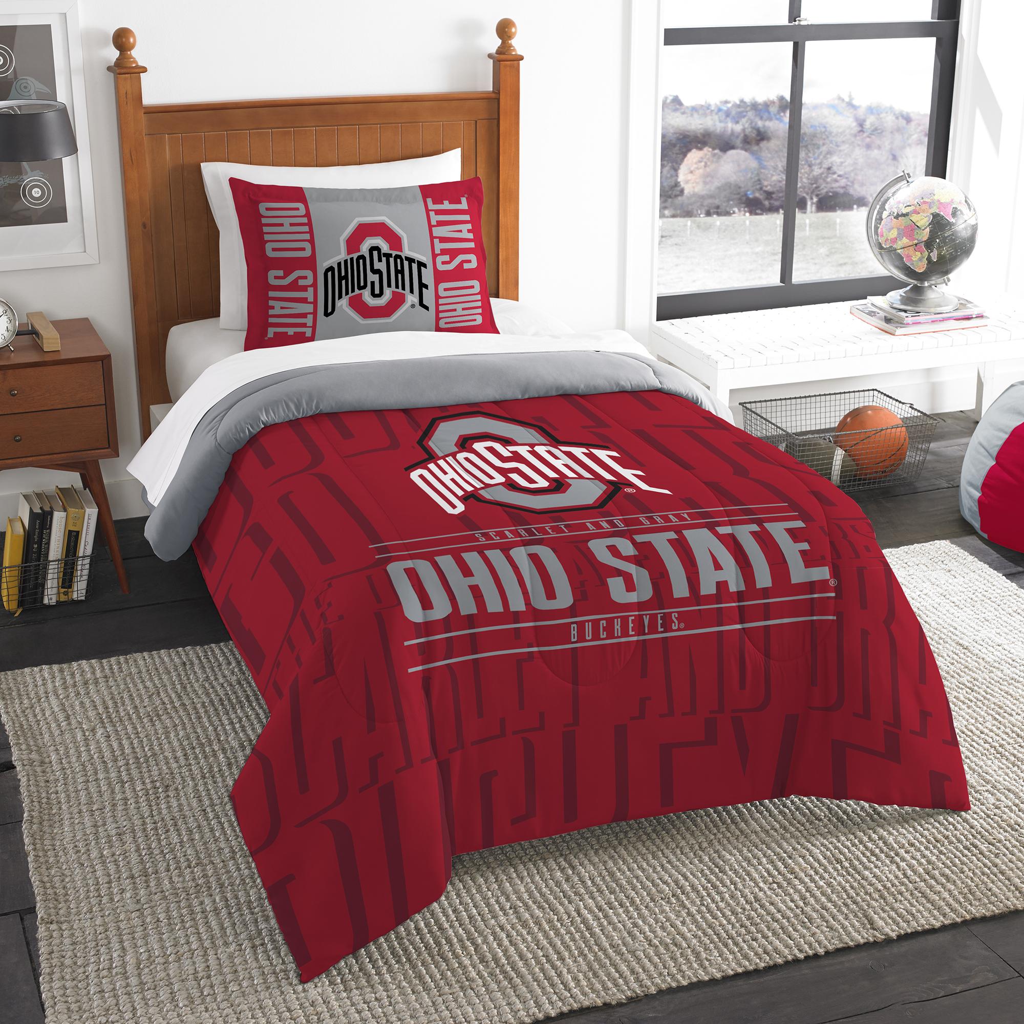 Homemade Wax Melts Ohio State Buckeyes Full Comforter /& Sheet Set 5 Piece NCAA Bedding