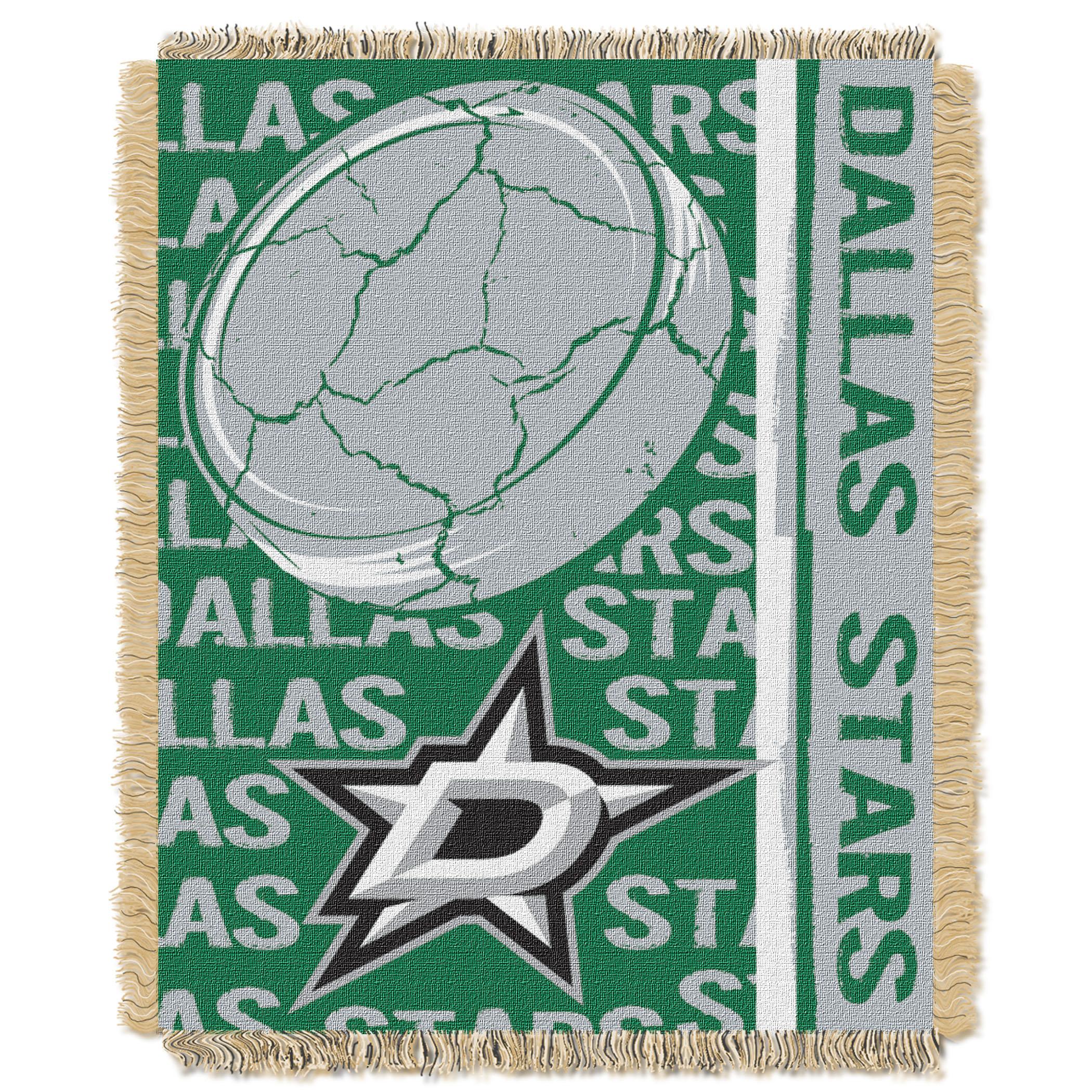 """Dallas Stars NHL Hockey Sports Team 50/"""" X 60/"""" Fleece Fabric Throw 031"""
