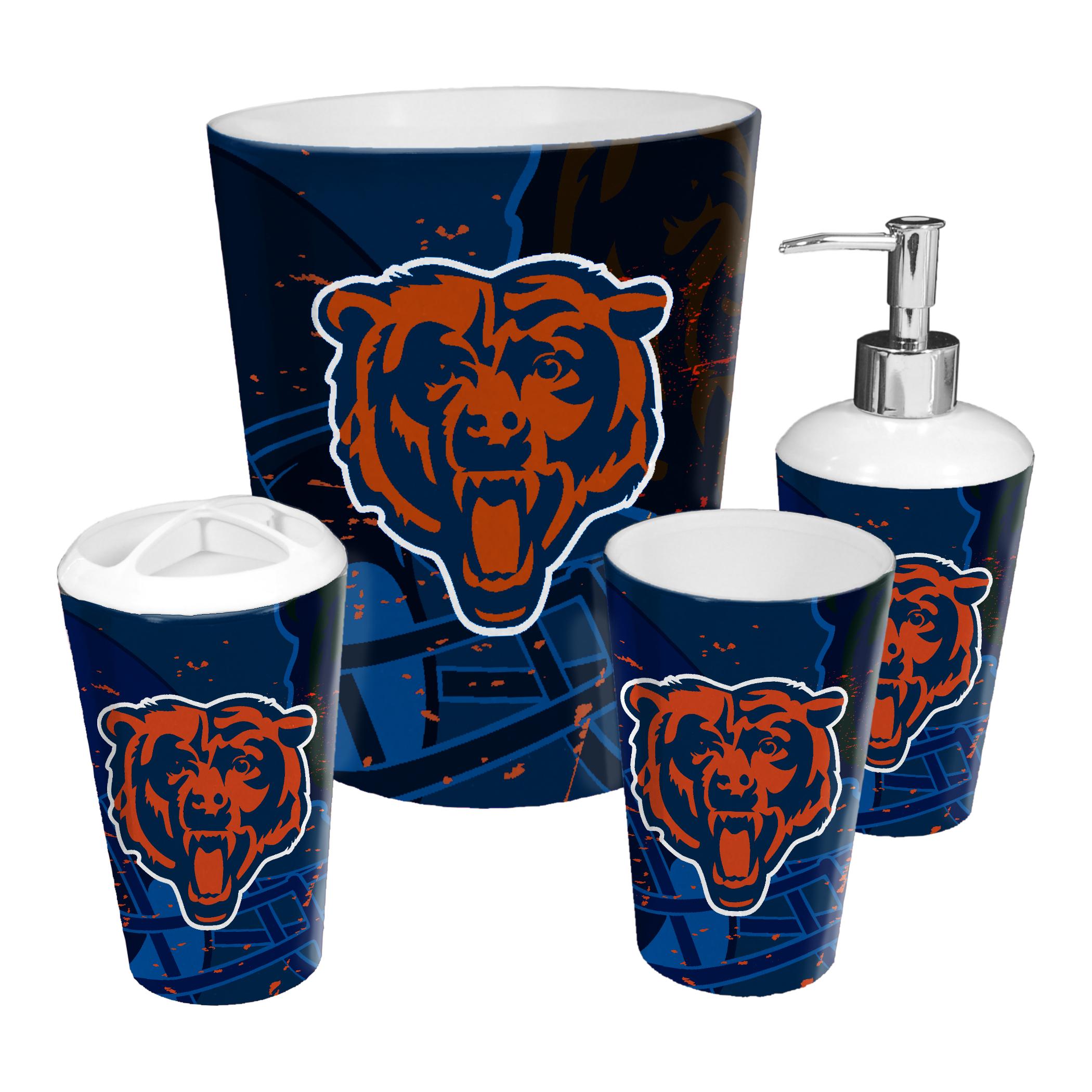 Chicago Bears 4pc Bath Set